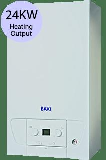 Baxi 200 Series 224 Combi 24KW Gas Combi Boiler