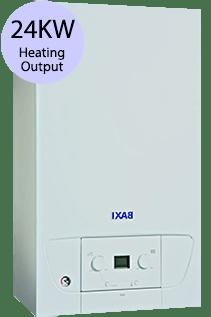 Baxi 400 Series 424 24KW Gas Combi Boiler
