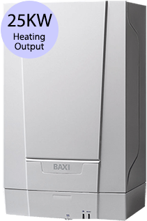 Baxi 400 Series 424 Heat 24KW Gas Regular Boiler