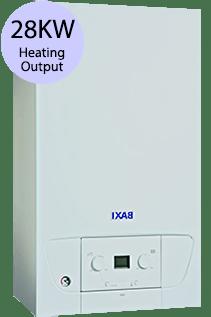Baxi 400 Series 428 28KW LPG Combi Boiler