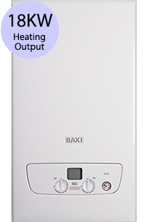 Baxi 600 Series 618S 18KW Gas System Boiler