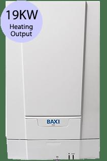 Baxi 600 Series 619H 19KW Gas Regular Boiler