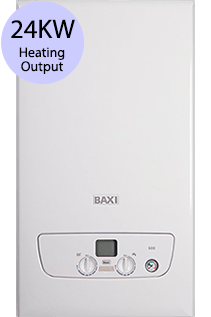 Baxi 600 Series 624 24KW LPG Combi Boiler