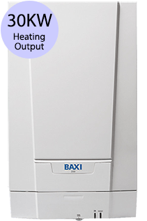 Baxi 600 Series 630H 30KW Gas Regular Boiler