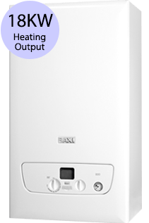 Baxi 800 Series 818S 18KW Gas System Boiler