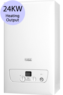Baxi 800 Series 824S 24KW Gas System Boiler