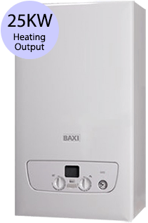 Baxi 800 Series 825 25KW Gas Combi Boiler