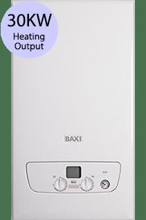 Baxi 800 Series 830 30KW Gas Combi Boiler