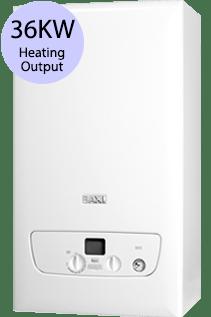 Baxi 800 Series 836 36KW Gas Combi Boiler