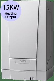 Baxi EcoBlue 15 Heat 15KW Gas Regular Boiler