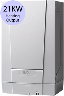 Baxi EcoBlue 21 Heat 21KW Gas Regular Boiler