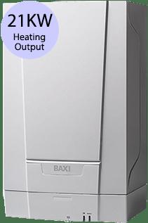 Baxi EcoBlue 21 Heat 21KW Gas Regular Boiler