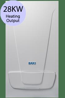 Baxi EcoBlue Advance 28 Combi 28KW Gas Combi Boiler