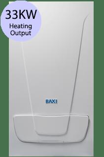 Baxi EcoBlue Advance 33 Combi 33KW Gas Combi Boiler