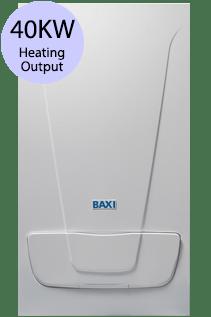 Baxi EcoBlue Advance 40 Combi 40KW Gas Combi Boiler
