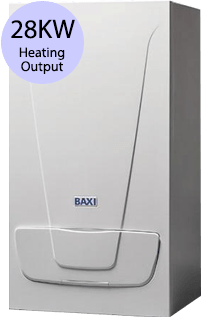 Baxi EcoBlue+ 28 28KW Gas Combi Boiler