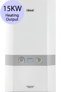 Ideal Independent 15 15KW Gas System Boiler