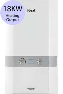 Ideal Independent 18 18KW Gas System Boiler