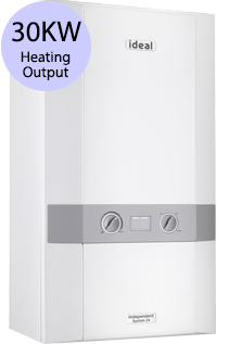 Ideal Independent 30 30KW Gas System Boiler