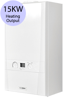 Ideal Logic 15 Heat 15KW Gas Regular Boiler