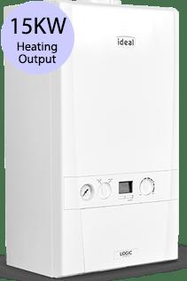 Ideal Logic 15S 15KW Gas System Boiler