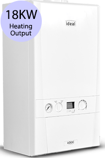 Ideal Logic 18S 18KW Gas System Boiler