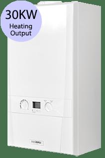 Ideal Logic 30 Heat 30KW Gas Regular Boiler