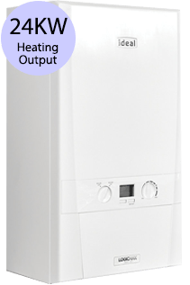Ideal Logic 24 24KW Gas Combi Boiler