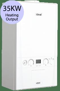 Ideal Logic 35 35KW Gas Combi Boiler