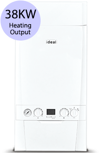Ideal Code ES 38 38KW Gas Combi Boiler