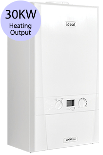Ideal Logic Max 30 30KW Gas Regular Boiler