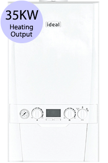 Ideal Logic Max 35 35KW Gas Combi Boiler