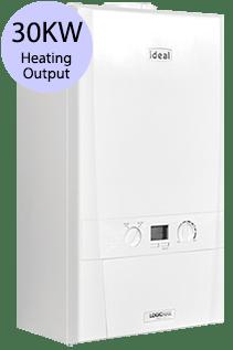 Ideal LOGIC+ H30 30KW Gas Regular Boiler