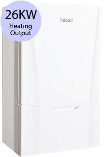 Ideal Vogue Max 26 26KW Gas System Boiler