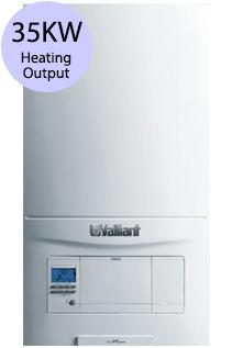 Vaillant ecoFIT pure 835 35KW Gas Combi Boiler