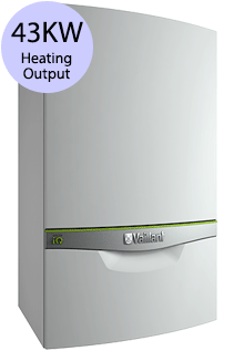 Vaillant ecoTEC exclusive 843 43KW Gas Combi Boiler