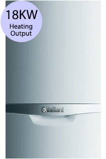 Vaillant ecoTEC plus 418 18KW Gas Regular Boiler