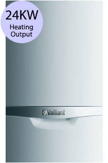 Vaillant ecoTEC plus 424 24KW Gas Regular Boiler
