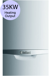 Vaillant ecoTEC plus 435 35KW Gas Regular Boiler