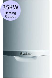 Vaillant ecoTEC plus 835 35KW Gas Combi Boiler