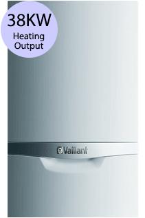 Vaillant ecoTEC plus 838 38KW Gas Combi Boiler