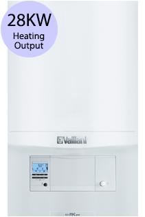 Vaillant ecoTEC pro 28 28KW Gas Combi Boiler