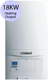 Vaillant ecoFIT pure 618 18KW Gas System Boiler