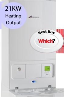 Worcester 21i System 21KW Gas System Boiler