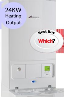Worcester 24i System 24KW Gas System Boiler