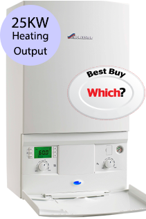 Worcester 25Si Compact 25KW Gas Combi Boiler