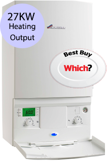 Worcester 27i System 27KW Gas System Boiler