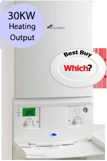 Worcester 30i System 30KW Gas System Boiler