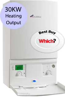 Worcester 30Si Compact 30KW Gas Combi Boiler