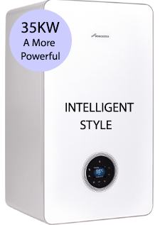 Worcester 8000 Style 35 S 35KW LPG System Boiler White